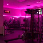 Club Fitness women's training studio and exercise equipment